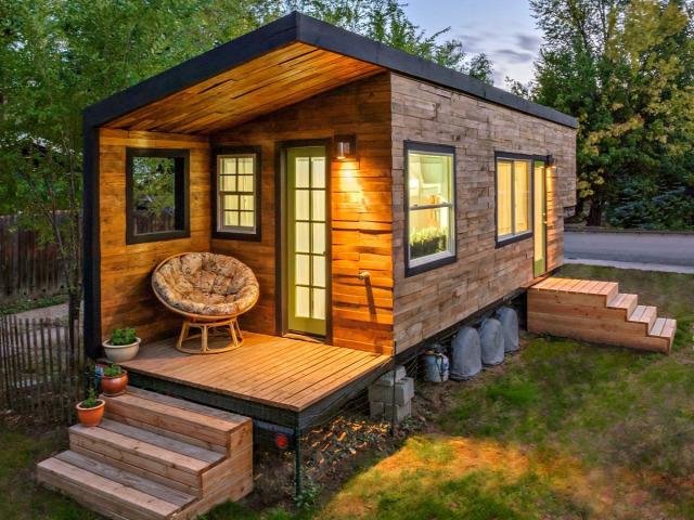 miniatűr otthon építészet lakberendezés