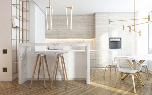 lakás design lakberendezés világítás 2017-es trendek