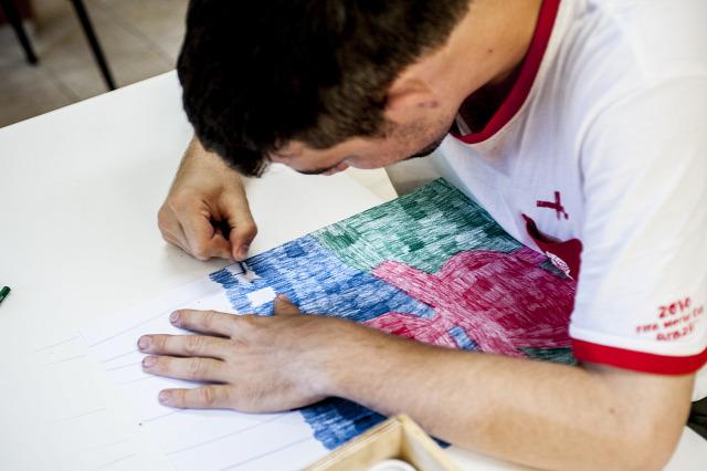 autizmus divat táska művészet rajzolás fashion