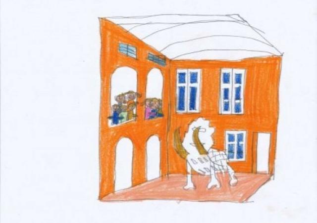 autizmus autista rajz művészet piszoár