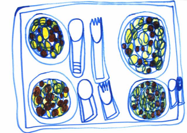 autistic art;  autizmus autista étel