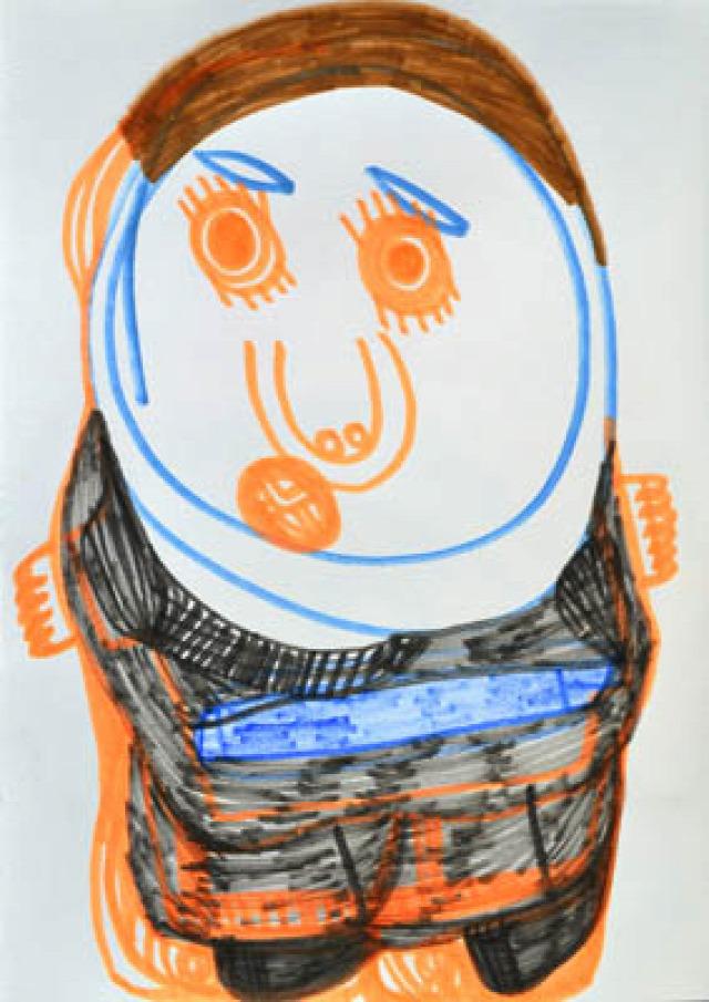 autizmus rajz autizmus világnapja művészet otthon barátság