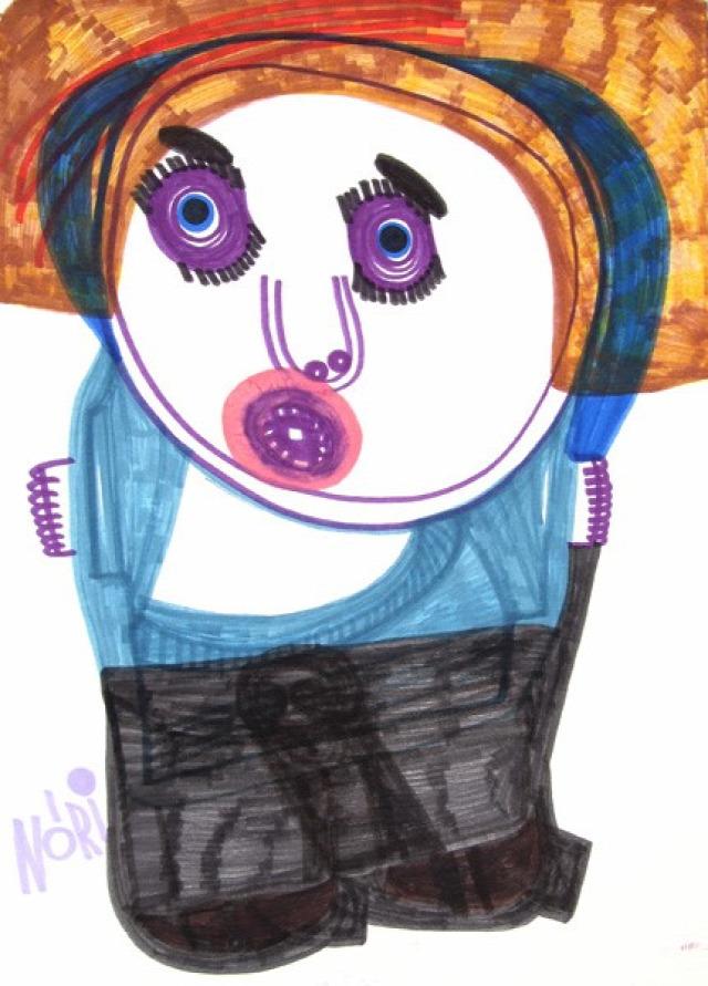 remény rajz autizmus autistic art alapítvány művészet terápia