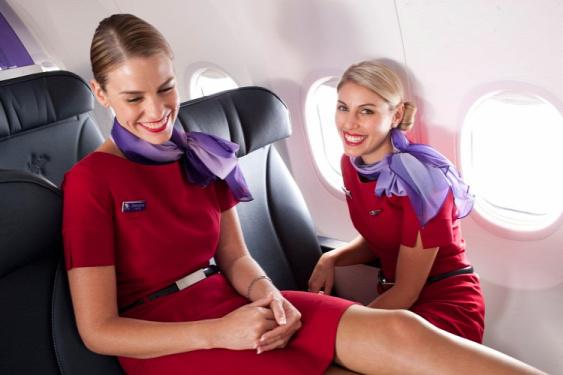 2016 legjobb légitársaságai Virgin Australia Etihad Airways Singapore Airlines Qantas Air New Zealand