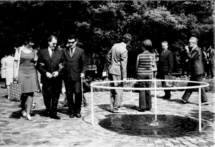 Liget Budapest Projekt Városliget Vakok kertje