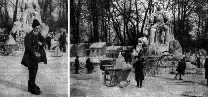 Liget Budapest Projekt Városliget Tél Szobrok