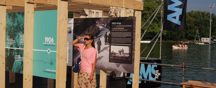 Városliget Liget Budapest Projekt FINA 2017