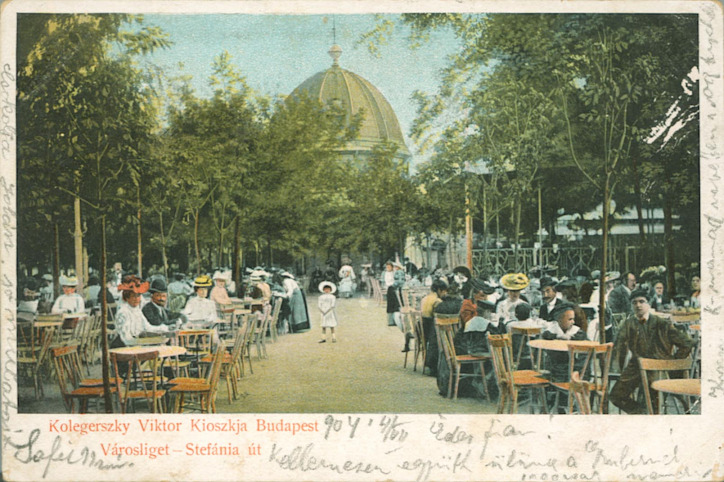 Liget Budapest Projekt Pavilonkert