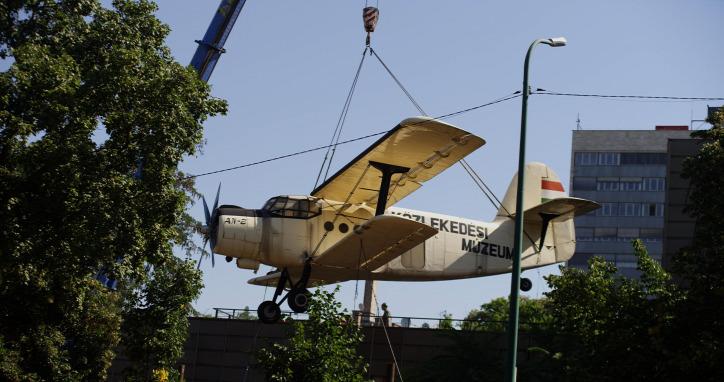 Liget Budapest Projekt Közlekedési Múzeum AN-2