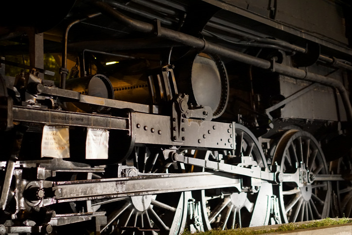 Liget Budapest Projekt Közlekedési Múzeum Városliget 424-es gőzmozdony