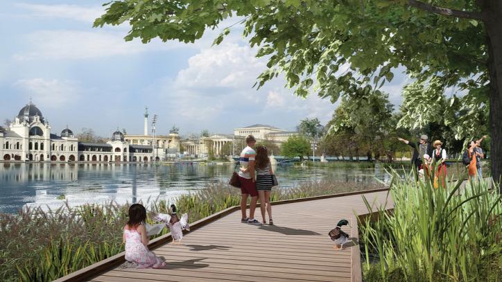 Liget Budapest Projekt Liget Park Fórum