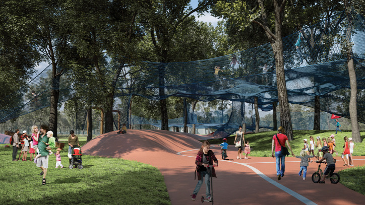 Liget Budapest Projekt Szloszjár György Garten Studio