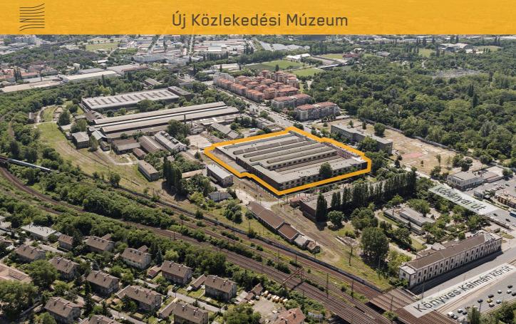 Liget Budapest Projekt Vitézy Dávid Magyar Innováció Háza Magyar Műszaki és Közlekedési MúzeumDízel-csarnok Közlekedési Múzeum