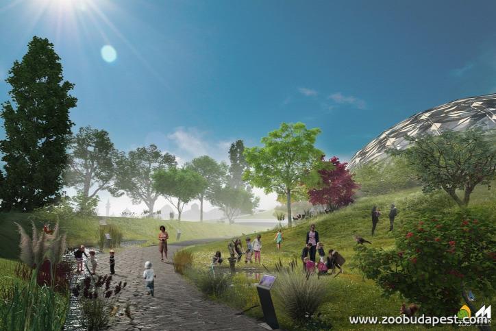 Liget Budapest Projekt Fővárosi Állat- és Növénykert Biodóm Városliget