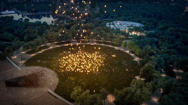 Városliget Liget Budapest Projekt Rondó