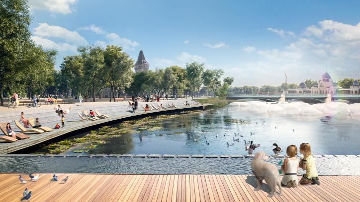 Liget Budapest Projekt Városliget Szökőkutak