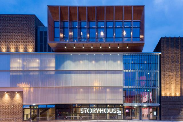 Chester storyhouse közösségi ház legdrágább építészet archichat