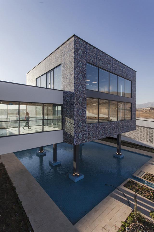 perzsa építészet modern irán archichat füles
