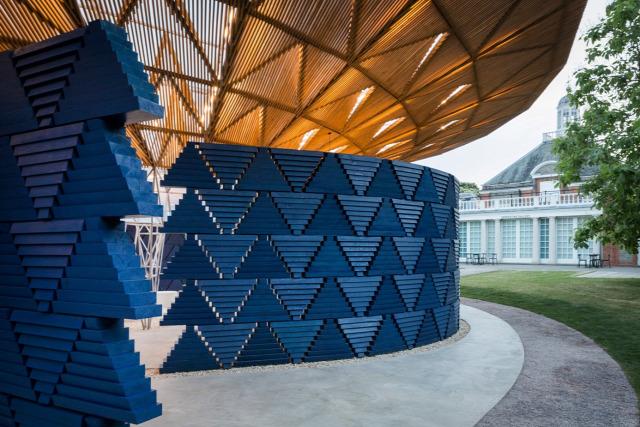 Kensington Serpentine Galéria pavilon Diébédo Francis Kere építészet afrikai archichat