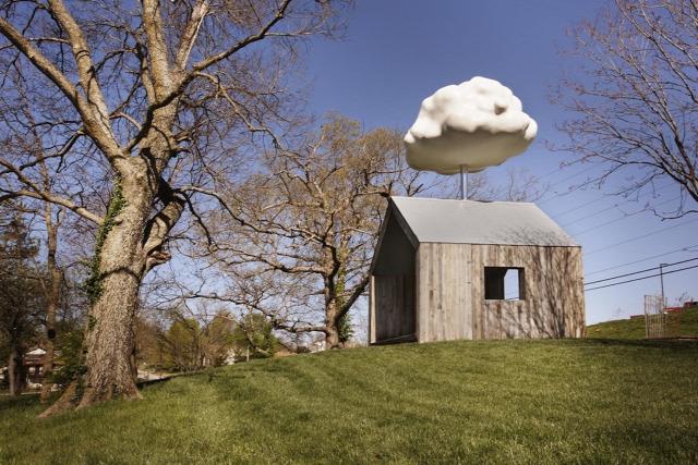építészet design archichat barányfelhő Matthew Mazotta bituman Cloud House Missouri Springfield  usa