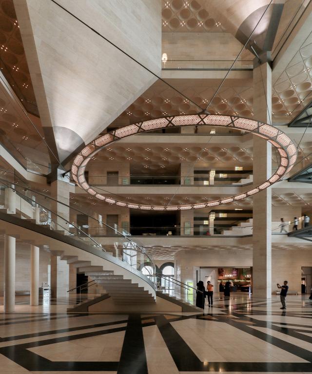 iszlám múzeum louvre építész Ieoh Ming Pei archichat füles mezei dániel doha katar