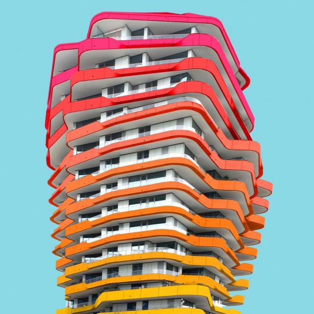lakótelep építészet felújítás  szines ház archichat füles mezei kendik