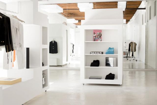divat építészet divatbemutató átalakítás belsőépítészet archichat los angeles frankie fashion