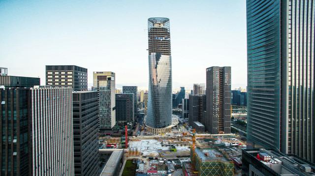 felhőkarcoló legmagasabb toronyház kína egyesült államok archichat kendik mezei dániel építészet acélváz