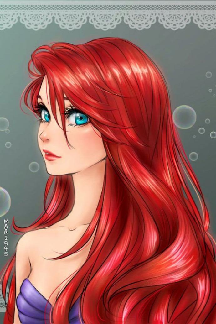 színes kiemelt Disney hercegnők manga anime