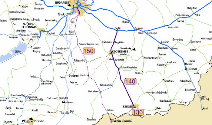 vasút Budapest-Belgrád vasút fejlesztés Kína Szerbia MÁV Szeged