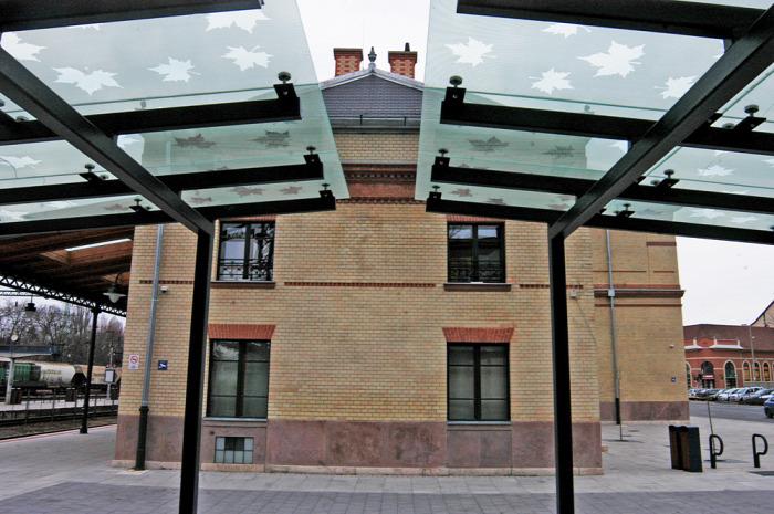 vasút építészet magazin Kaposvár