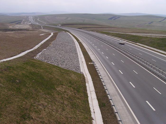 Románia közút útépítés beszerzés Kolozsvár Erdély autópálya EU