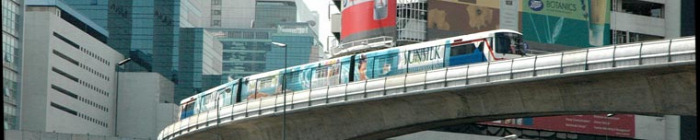 Thaiföld metró gyorsvasút Bangkok magasvasút