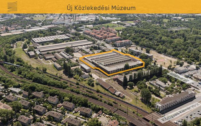 múzeum magazin építészet örökség Vitézy Dávid Budapest MÁV Északi Járműjavító