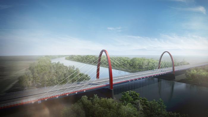 M44 közút beszerzés útépítés NIF Uvaterv híd Tisza autóút gyorsforgalmi