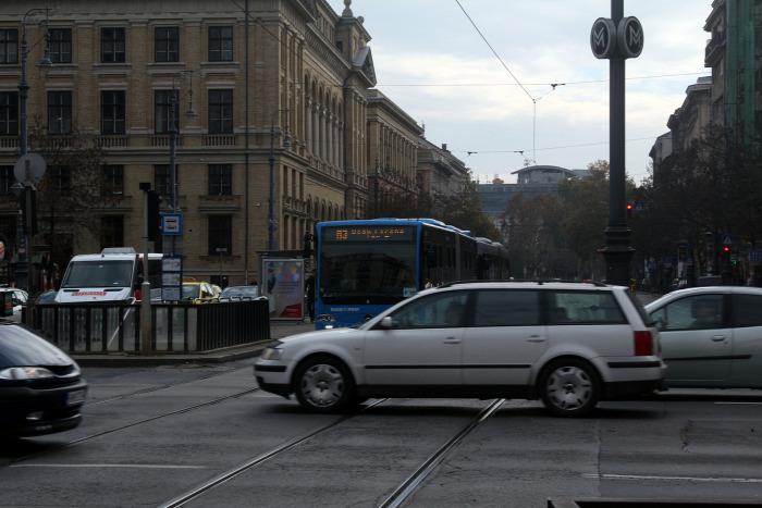 időjárás légszennyezés busz közút Budapest