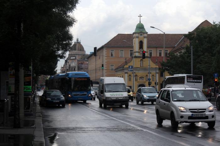 Budapest Időjárás közút BKK busz tarifa légszennyezés