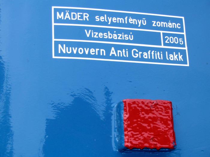 vasút gyorsvasút MÁV MÁV-Start HÉV dizájn graffiti bűncselekmény