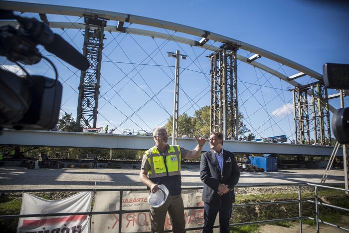 közút útépítés híd beszerzés Győr NIF NFM Strabag