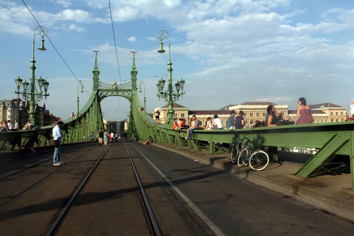 Budapest híd Tarlós István villamos