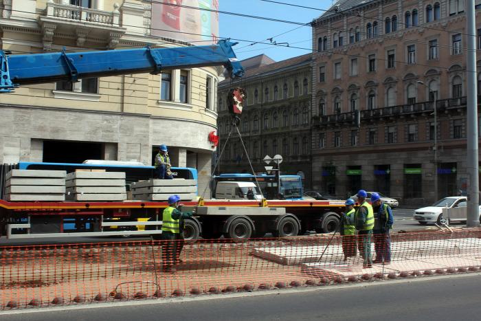 villamos BKV BKK Budapest beszerzés 4-6-os