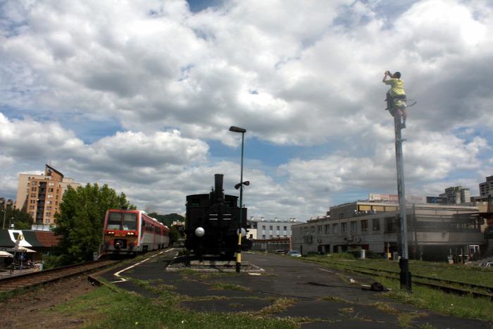 vasút magazin Szergej Búvár Fotó tehervonat Szlovákia