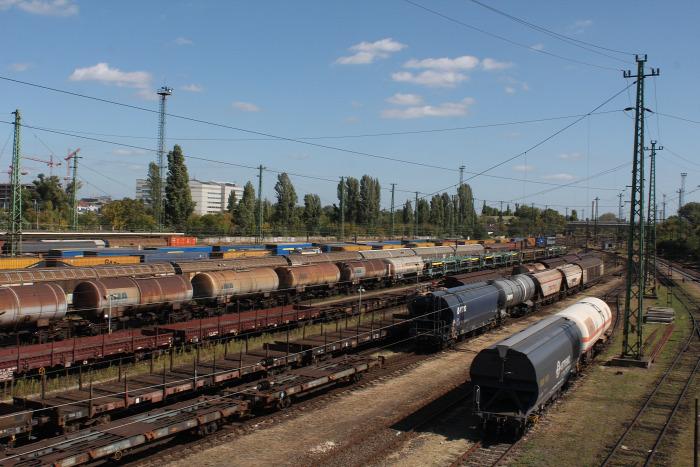 vasút baleset Ferencváros vágányzár