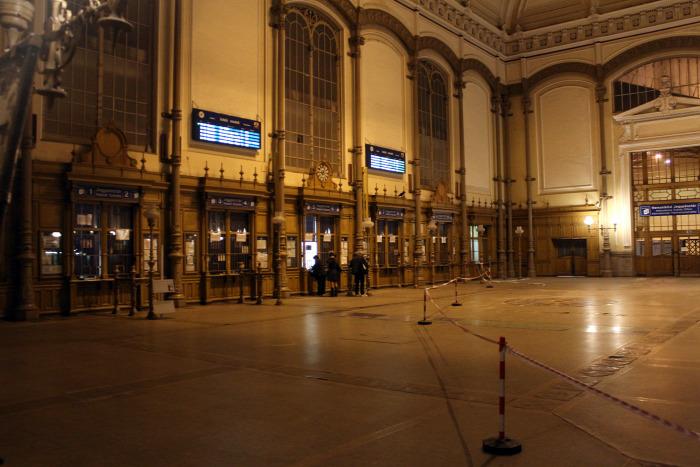 vasút MÁV Budapest Nyugati pályaudvar baleset