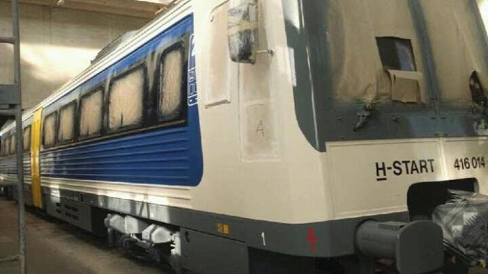 vasút MÁV Uzsgyi dizájn felújítás MÁV-Start