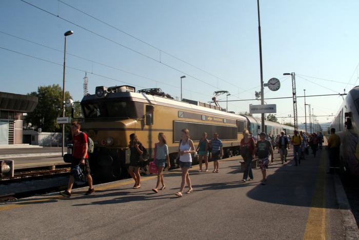 vasút MÁV-Start Szlovénia Horvátország Montenegró Bulgária
