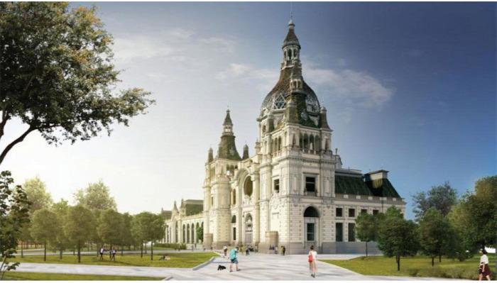 magazin építészet örökség Budapest Vitézy Dávid Városliget