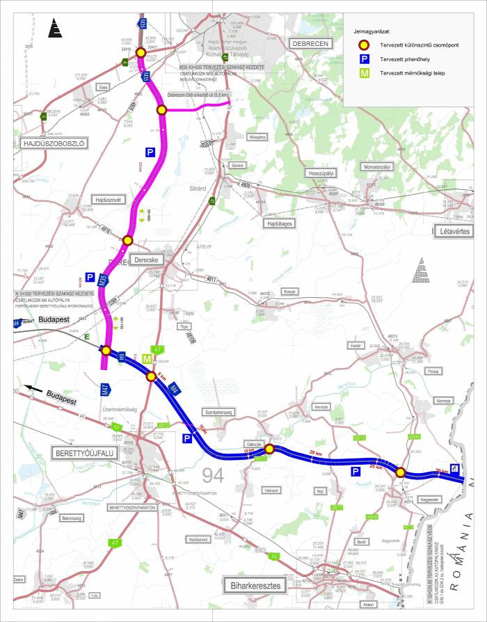 közút Románia beszerzés M4-es autópálya M35-ös autópálya Közgép Nemzeti Infrastruktúrafejlesztő útépítés