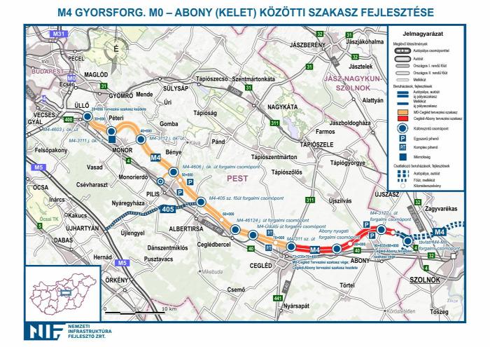 közút útépítés beszerzés EU NIF NFM Homolya Róbert Kósa Lajos Szolnok M4 autóút