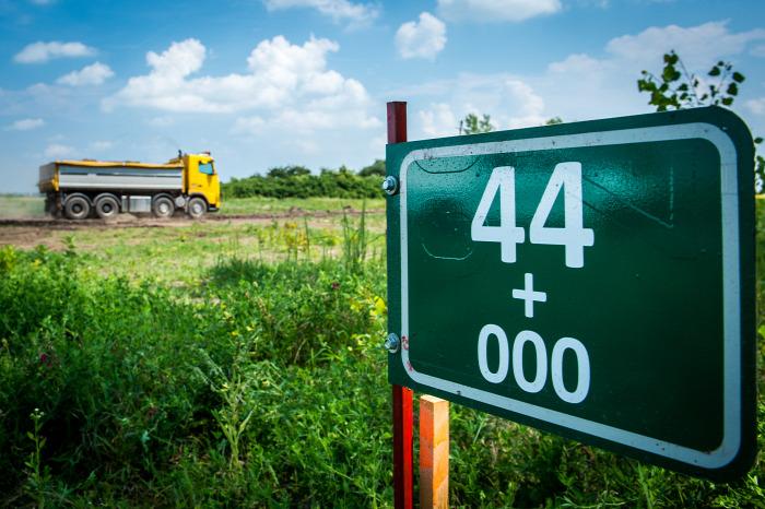 közút M44 NIF régészet magazin autóút útépítés